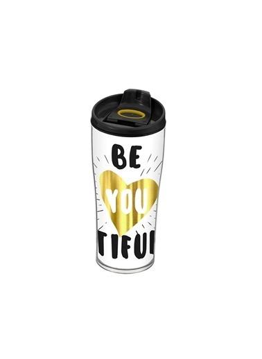 Herevin Herevin 161483-004 440Cc Desenli Konik Kahve Bardağı Renkli